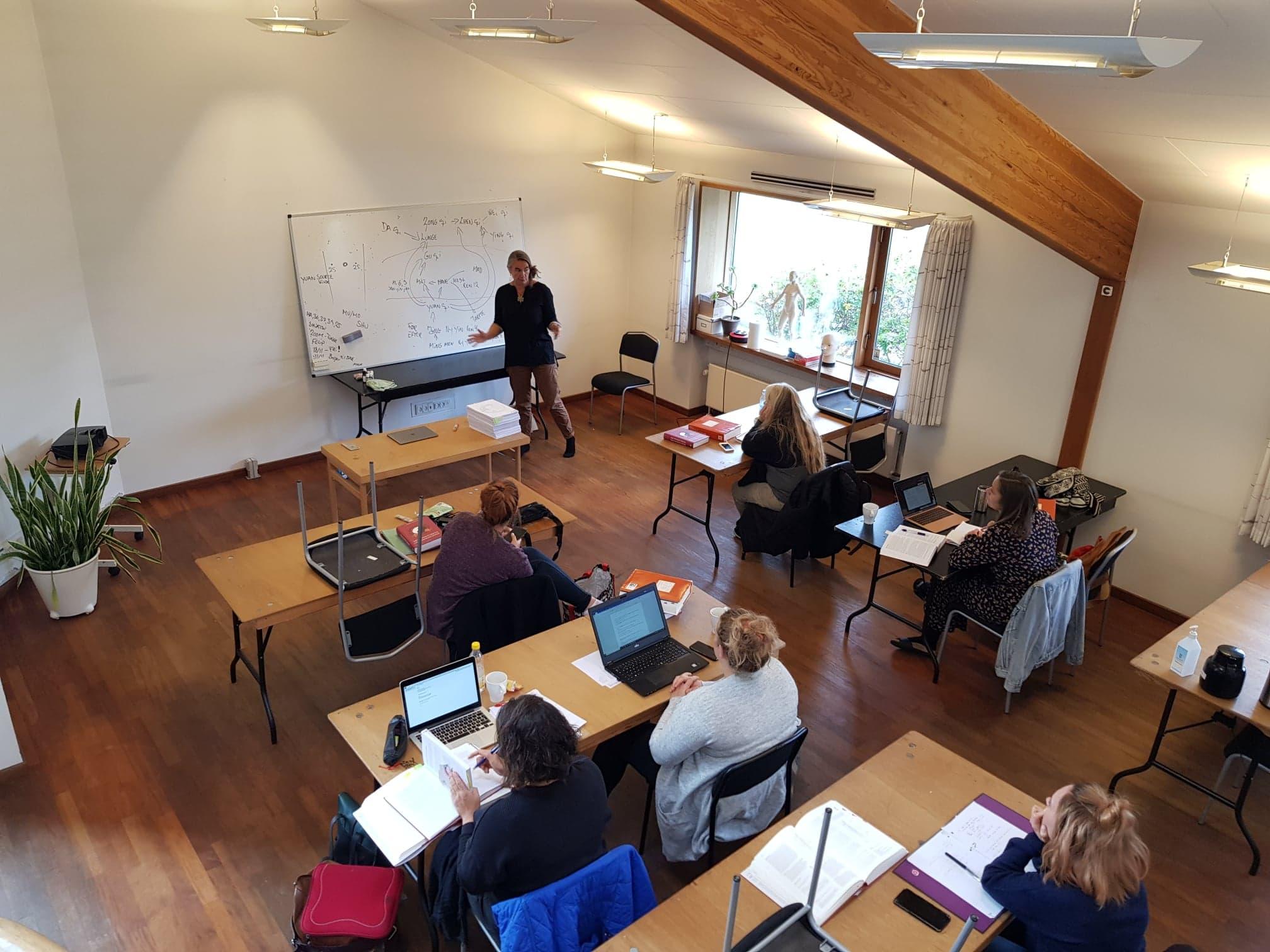 Undervisning med Camilla Gliemann
